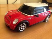 1:24 scale Mini Cooper S R/C control