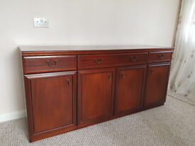 Mahogany sideboard, with cupboard and drawers