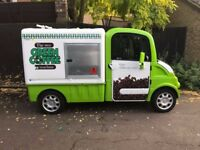 Electric Coffe/catering van