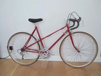 Rare Raleigh Lady clubman Reynolds 531 vintage bike