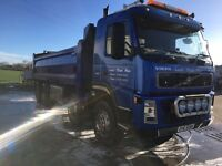 8 wheeler tipper lorry