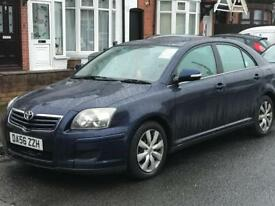 Toyota avensis 1.8 lpg solihull plated