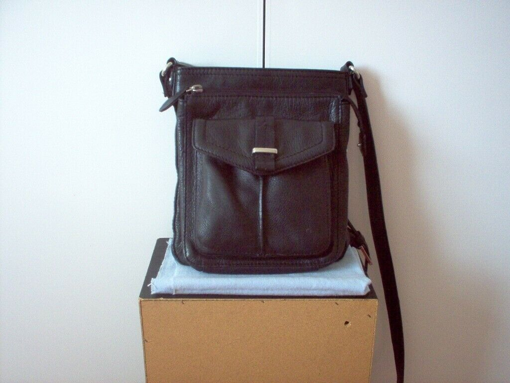 70ff96eeb5 Black Leather Handbag