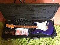 Fender Stratocaster and Mustang II Amp