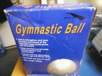 GYMNASTIC BALL BRAND NEW OLD STOCK