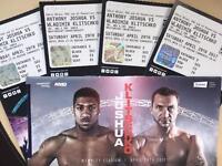 Joshua Klitschko Tickets (4 available)