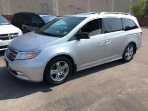 2011 Honda Odyssey Touring, Automatic, Third Row Seating, TV/DVD