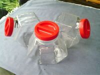 Glass Storage Jars Italian