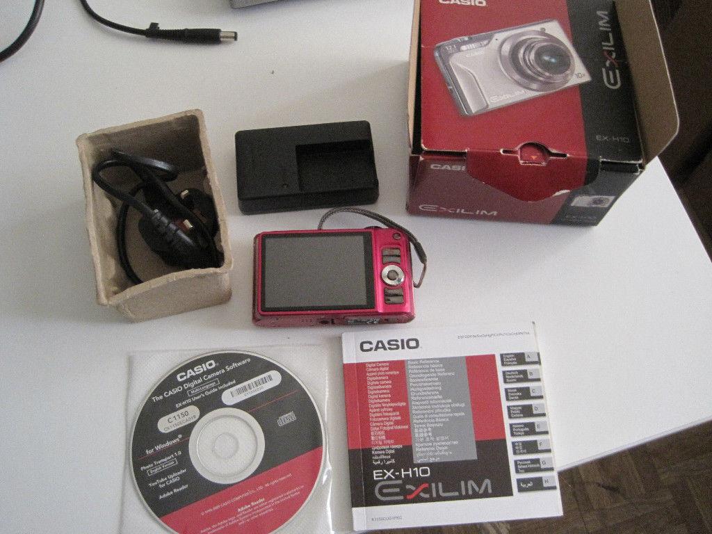 Casio ex-h10 review.