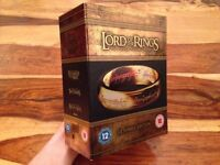 The Lord of The Rings Trilogy [15 Discs Blu-ray Set] - EXTENDED EDITION