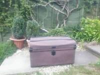 Vintage Metal chest