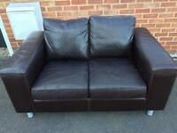 Two seater sofa £20