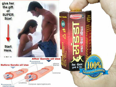 New Sandha Saandhha Sanda Oil Organ Enlargement Massage Oil 15 ml best