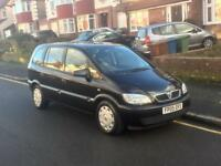 Vauxhall Zafira 1.6, 7 SEATER, Long MOT, Full Service History,Only 1 Former Keeper,Cheap 4 Insurance