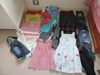 Girl's Bundle of Clothes, Age 6.