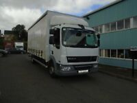 JUNE 2013 10 TON DAF LF45-160 23FT CURTAIN AND BOX