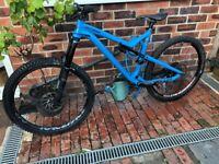 Commencal meta full suspension mountain bike