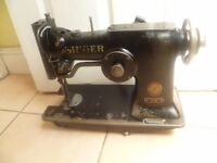 Singer 107W ZIG ZAG SEWING MACHINE (IDEAL FOR SAILMAKING leather, tents