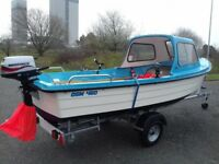Fishing boat 460 osm excellent condition