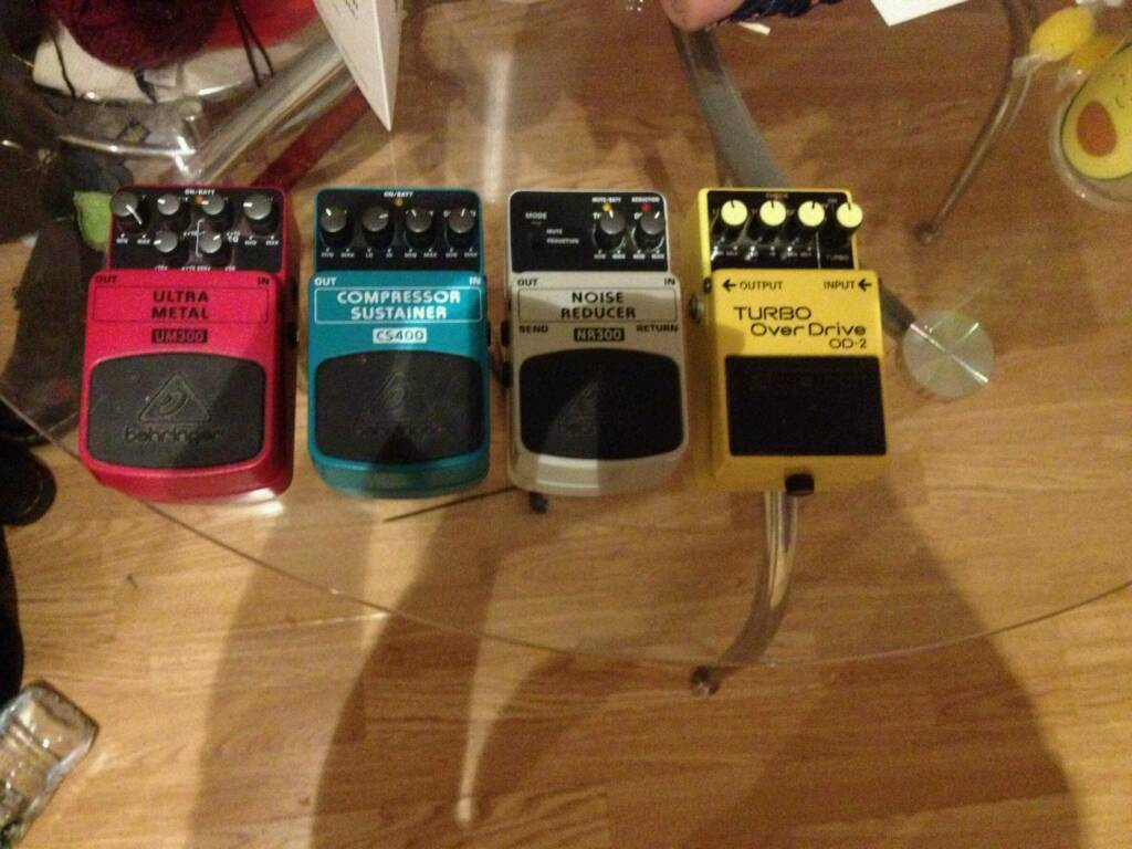 Various pedals