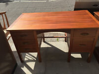 Large desk , with drawers at both sides. Free local delivery.