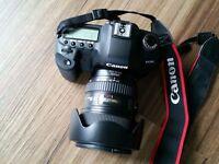 Canon EOS 5D Mark II 21.1MP Digital SLR Camera+Canon 24-105 F4