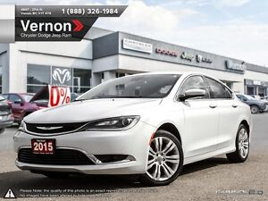 2015 Chrysler 200 Limited FWD SIRIUS XM | BLUETOOTH