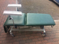 2 Akron 3 Section Electric Podiatry Orthopaedic Medical Chair Couch £350 EACH