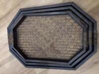 Laura Ashley nest of trays