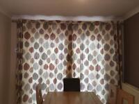 Curtains, Pole & Holdbacks