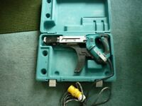 Makita 110v Collated Screw Gun