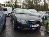 Audi A4 2l TDI S Lines cabriolet 2007 Fully loaded