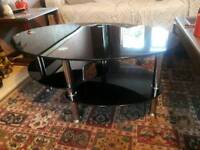 Glass Coffee Table / TV Stand