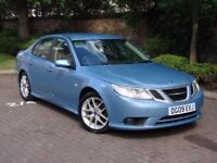 AA WARRANTY!!! 2009 SAAB 9-3 1.9 TTiD VECTOR SPORT 4dr, HALF LEATHER, 1 YEAR MOT, ONLY 74000 MILES