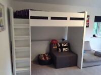 Children's bunk bed and work station. (Next furniture)