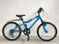 "(4254) 20"" Aluminium RIDGEBACK MX20 MOUNTAIN KIDS BIKE BOYS GIRLS BICYCLE Age: 6-9, 120-135 cm"