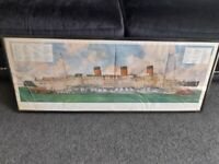 Rms queen mary drawing