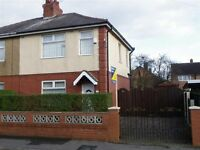3 bedroom semi-detached house to rent. PR2 6PP Gardens and parking to front and rear. £600 pcm