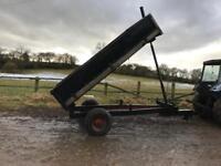 Farm tipping trailer 4 tonne