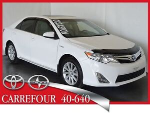 2012 Toyota CAMRY HYBRID XLE Cuir+Navigation+Toit Ouvrant