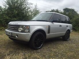 2003 03 LAND ROVER RANGE ROVER 4.4 HSE ONE PREVIOUS KEEPER NR MINT CONDITION FULL MOT TOWBAR PX SWAP