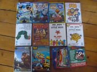 Bundle of children's DVDs