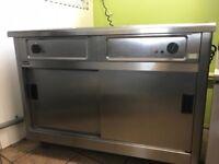 Lincat IP24B Bain Marie with heated cupboard