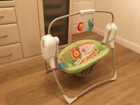 Fischer Price Electric Baby Swing Rocker with Music