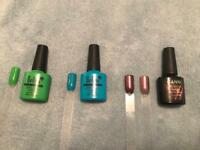 *NEW* *OFFERS* 3 mixed gel polish bottles