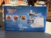 Butchers Meat Grinder & Sausage Filler