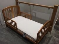 Junior bed and Mamas and Papas mattress in very good condition
