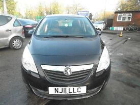 Vauxhall Meriva 1.7 CDTi 16v Exclusiv 5dr £4,875 2011 (11 reg) Automatic, MPV