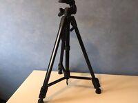Black Silvercrest Camera Tripod
