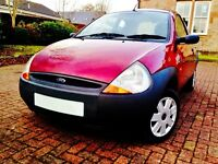 LOW MILEAGE BEAUTIFUL FORD KA GOING FOR £995
